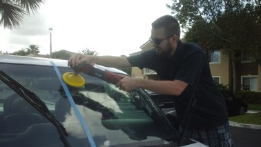 Windshield restoration Boynton Beach, Florida