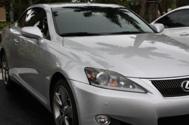 2011 Lexus IS250 polished + protected